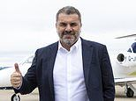 New Celtic manager Ange Postecoglu touches down in Glasgow