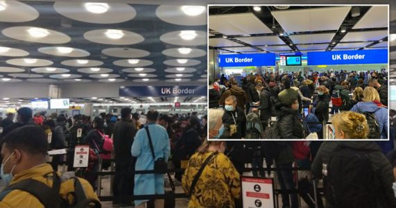 'Super-spreader' fears after Heathrow rammed with people rushing back to UK