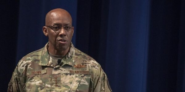 Listen to this powerful message on race from the general set to become the US Air Force's first black chief of staff