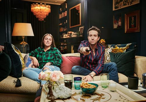 How Celebrity Gogglebox stars - including Nick Grimshaw and his niece - can film together while social-distancing