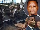 Surveillance video shows Cuba Gooding Jr touch his accuser on her thigh and breast