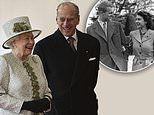The Queen and Duke of Edinburgh as they celebrate 72nd wedding anniversary