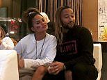 John Legend tries on wife Chrissy Teigen's clip-on hair extension in silly Super Bowl snap