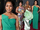Angela Bassett, 61, winds back the clock with Lizzo and Cynthia Erivo at NAACP Image Awards