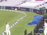 Joe Root and Co show off their football skills by mastering seven-man bin challenge