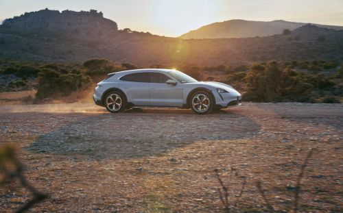 Porsche Taycan Cross Turismo unveiled, a more rugged estate version of the electric GT