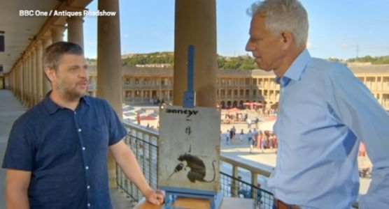 This man tried to sell his stolen Banksy on Antiques Roadshow