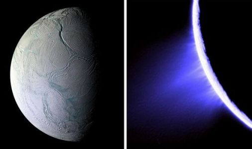 NASA news: Saturn's moon Enceladus is spewing 'snow cannons' at neighbouring moons