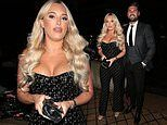 TOWIE's Amber Turner wows in busty jumpsuit as she joins boyfriend Dan Edgar at ITV Palooza