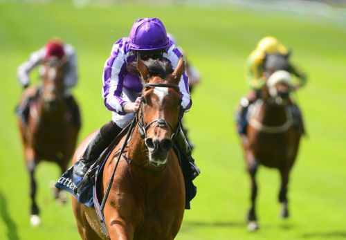 Irish Champion Stakes: Top filly Magical heads up Ballydoyle 1-2-3 under Ryan Moore