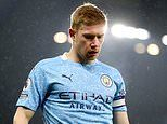 Kevin De Bruyne doubtful for Man City's season-defining clash against Liverpool
