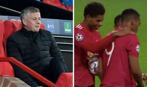 Man Utd boss Solskjaer snubbed Marcus Rashford and Bruno Fernandes with touchline demand
