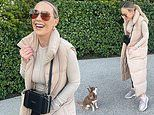 Kate Ferdinand puts on a stylish display in snaps taken by step-daughter Tia