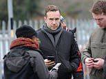 Rafe Spall and film crew descend upon Salisbury to shoot BBC drama about Novichok poisonings