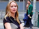 Jennifer Lawrence and fiance Cooke Maroney spark wedding rumours as couple spotted leaving Marriage Bureau