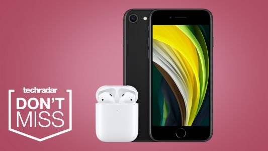 Pay £19.99 a month for this iPhone SE deal and receive a free pair of AirPods
