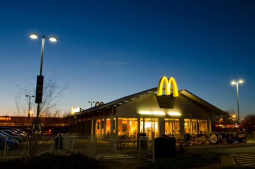 McDonald's opening times on New Year's Eve and New Year's Day 2021
