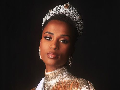 People told Miss South Africa Zozibini Tunzi to wear a wig for the Miss Universe pageant. She won wearing her natural hair