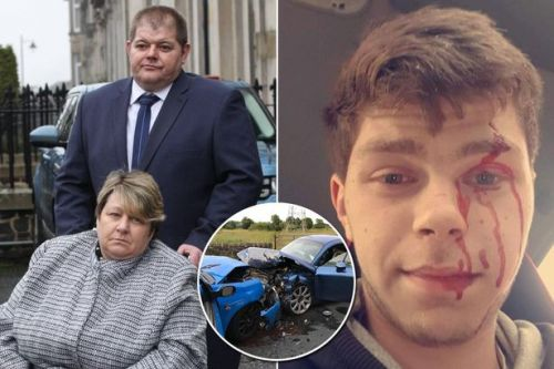 Young driver caused crash which put nan-of-nine in wheelchair then took selfie