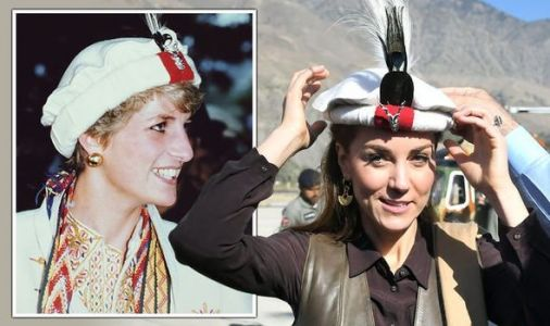 Royal Tour LIVE: Kate shocks local by wearing same traditional hat as Princess Diana