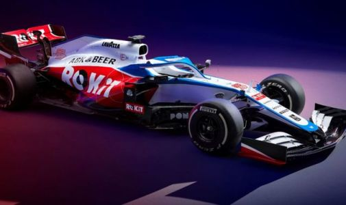 Williams 'fighting' as 2020 car, the FW43 unveiled, with new look