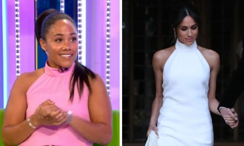Alex Scott channels Meghan Markle on The One Show in the most gorgeous way