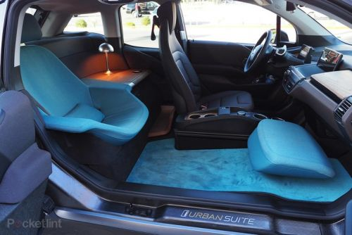 BMW i3 Urban Suite is like a first-class seat on wheels