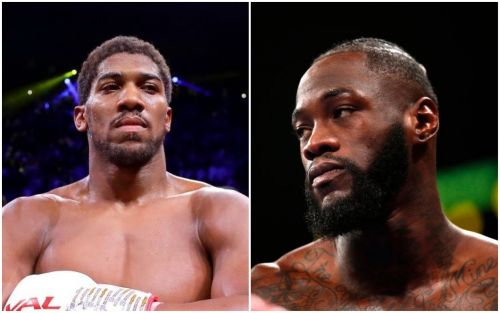 Deontay Wilder claims Anthony Joshua fight will 'never happen'
