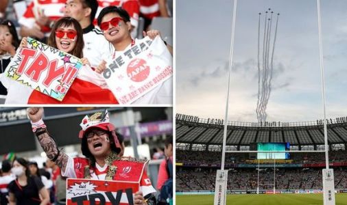 What time is Japan vs Russia and what TV channel is Rugby World Cup 2019 on?