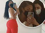 Jordyn Woods puts iconic derrière on display as she gets lymphatic drainage massage in Beverly Hills