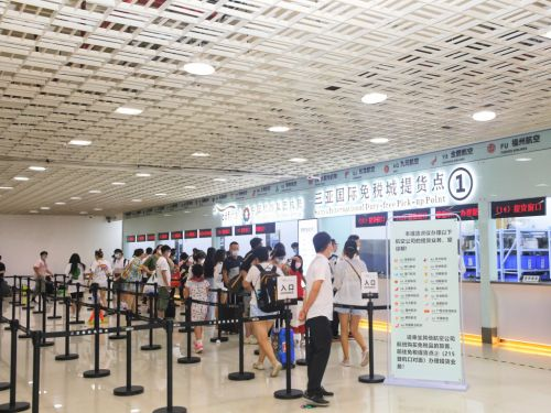 Sanya airport leads China in flights recovery in July