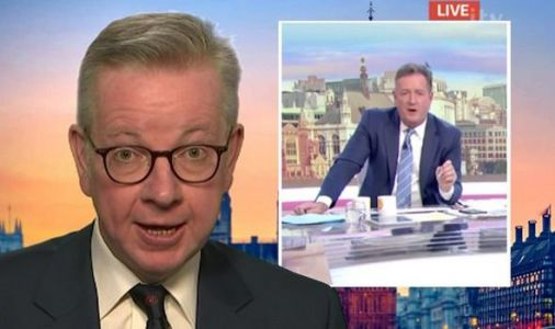 'GET A GRIP!' Piers Morgan furious as Gove gives 'completely wrong advice' on children