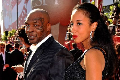 Mike Tyson's wives - 'one in bed with Brad Pitt' and ex-con who stole his heart