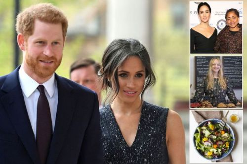 Inside Meghan Markle and Prince Harry's very untraditional wedding reception where 'guests will eat standing up'