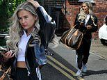 Love Island's Molly-Mae Hague showcases her new luscious locks after visiting hair salon