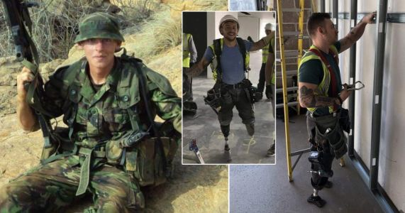 Amputee soldier says losing legs in Afghanistan explosion gave him 'spider senses'