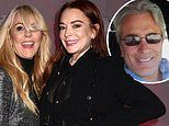 Lindsay Lohan will serve as her mother Dina's maid of honor to her internet fiancé Jesse Nadler