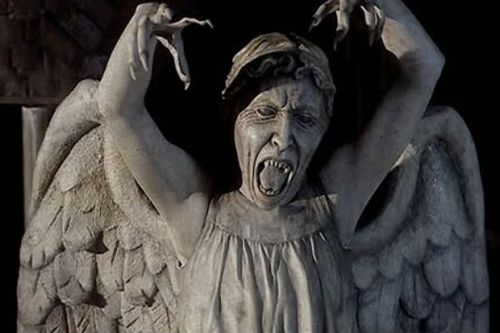 The Weeping Angels named scariest Doctor Who monster ahead of Halloween
