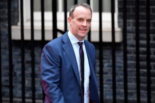 Raab Defends Johnson Over Luxury Holiday While Iran Crisis Erupts