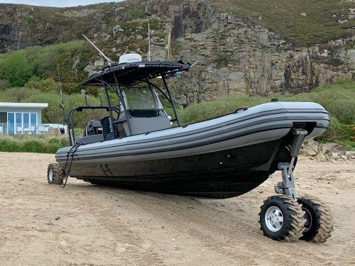These 4-by-4 'amphibious' boats can also drive on land and go where almost all other watercraft can't