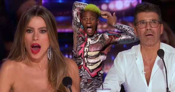 Simon Cowell and Sofia Vergara freak out over body-contorting dancer on America's Got Talent