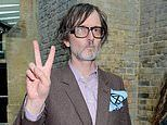 Pulp frontman Jarvis Cocker hits the Q Awards red carpet with members of Extinction Rebellion