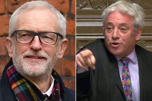 Ex-Speaker John Bercow is nominated for a peerage - by Labour