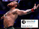 Nate Diaz takes aim at Conor McGregor as old rival claims win over Donald Cerrone was 'all fake'