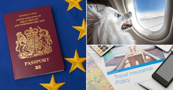 Brits told how Brexit will impact holidays, pets and mobile phone charges