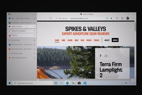 New Microsoft Edge update: Vertical tabs now let you manage tabs on the side