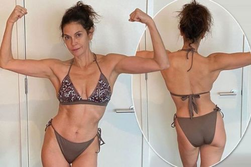 Teri Hatcher says she's 'finally comfortable in her own skin' as she turns 55