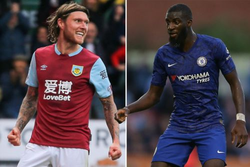 Chelsea ace Tiemoue Bakayoko and Burnley's Jeff Hendrick included on AC Milan's six-man midfield transfer hit list