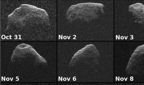 God of Chaos: The asteroid which could blast Earth with a force of 65,000 nukes