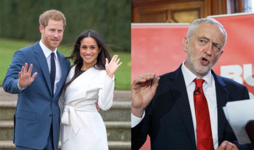 'There's catch-up' Jeremy Corbyn will NOT watch the royal wedding live
